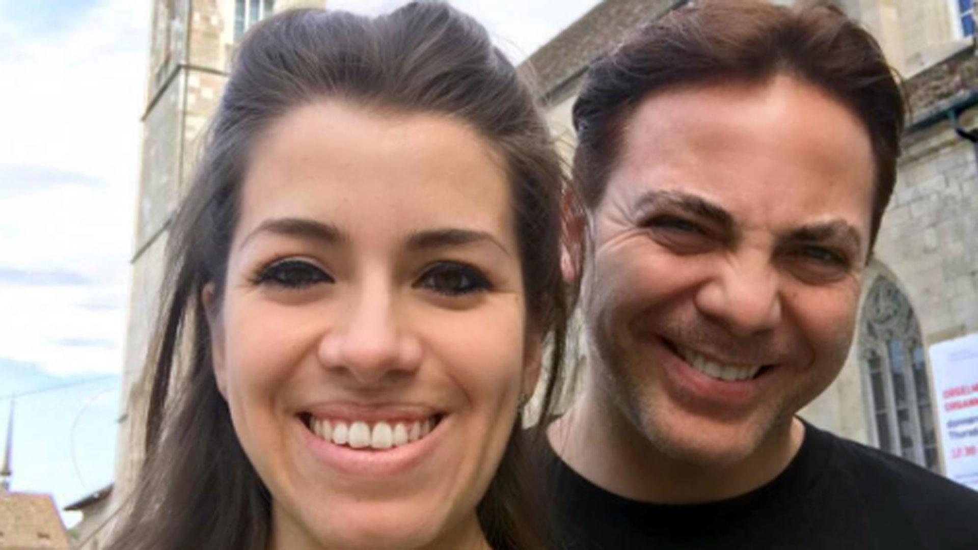 Cristian Castro y Carol Victoria Urbán. (Foto: Instagram)