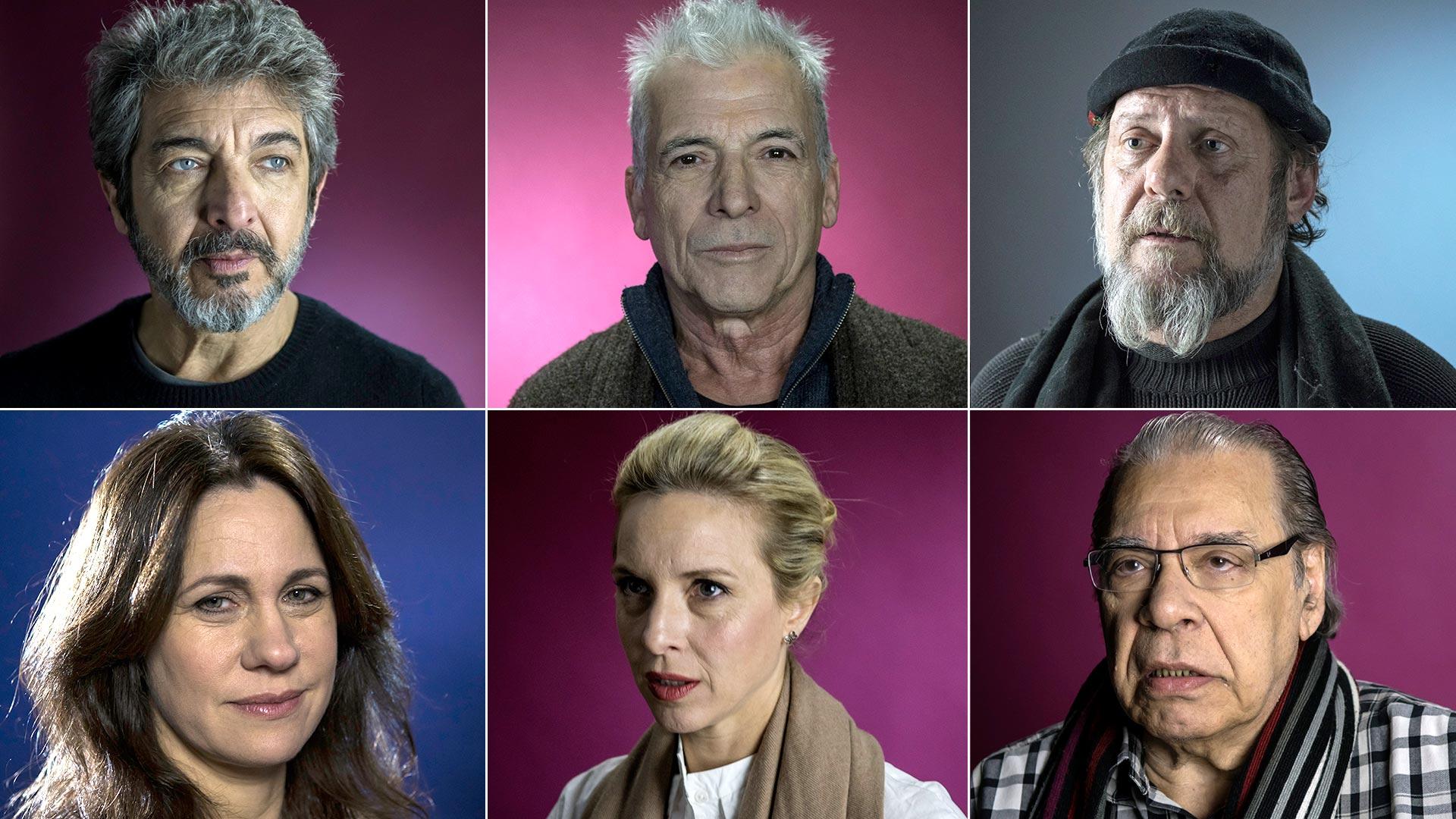 Más de 60 actores de diversas trayectorias e ideologías participaron en el video