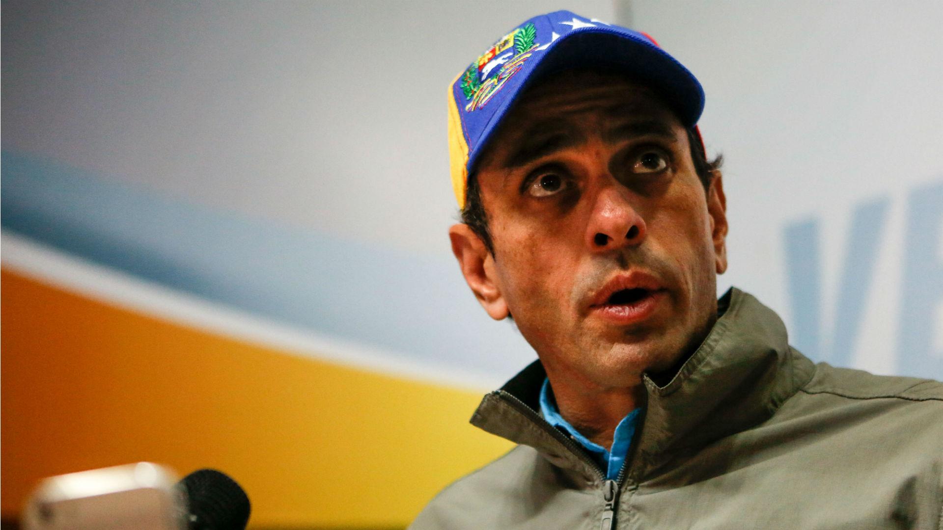 El líder opositor Henrique Capriles (EFE)