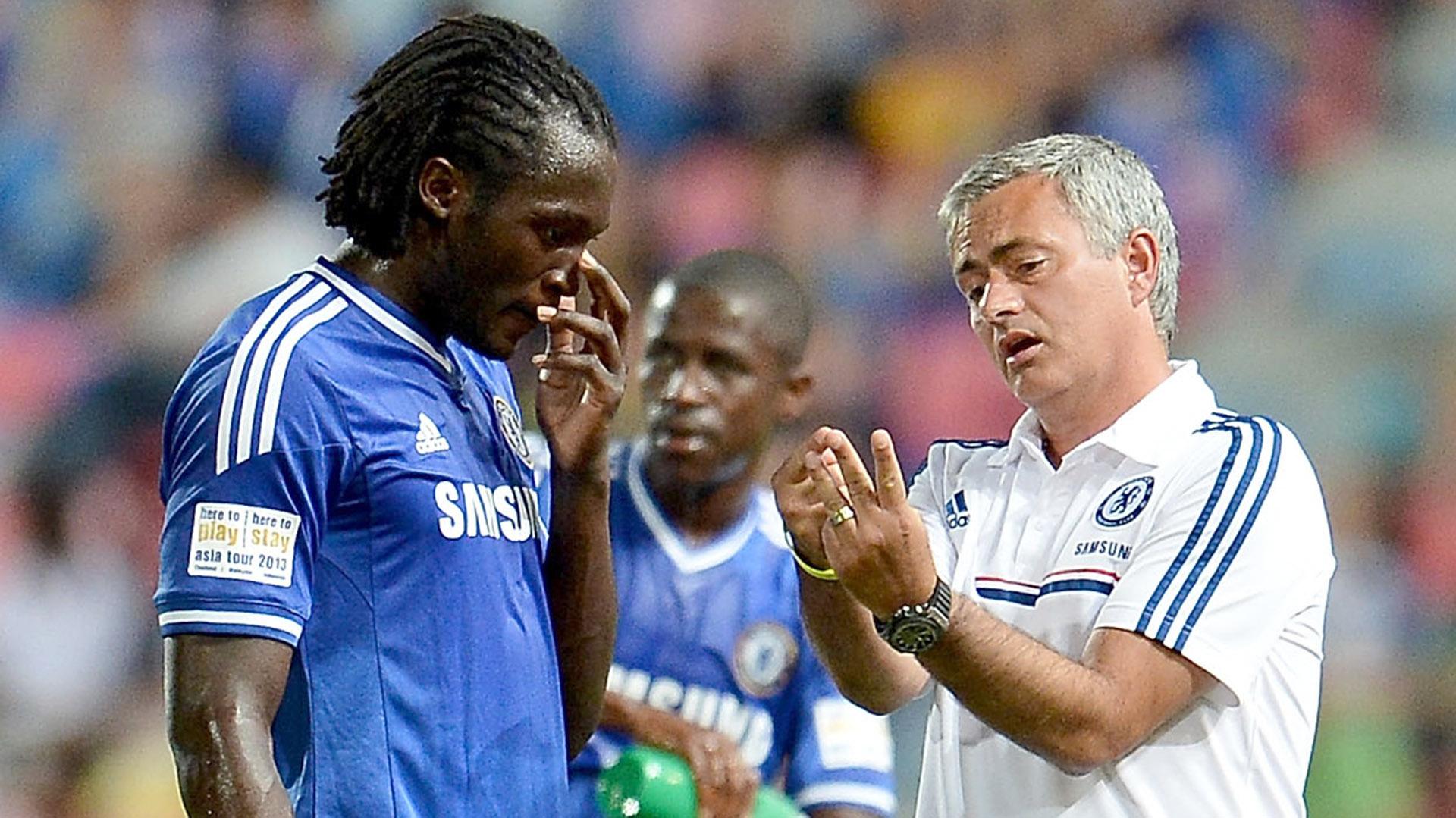 Mourinho dirigió a Lukaku en el Chelsea y en el Manchester United(Getty Images)