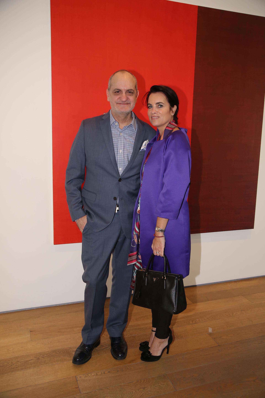 Laurencio Adot y Marcela Rémoli