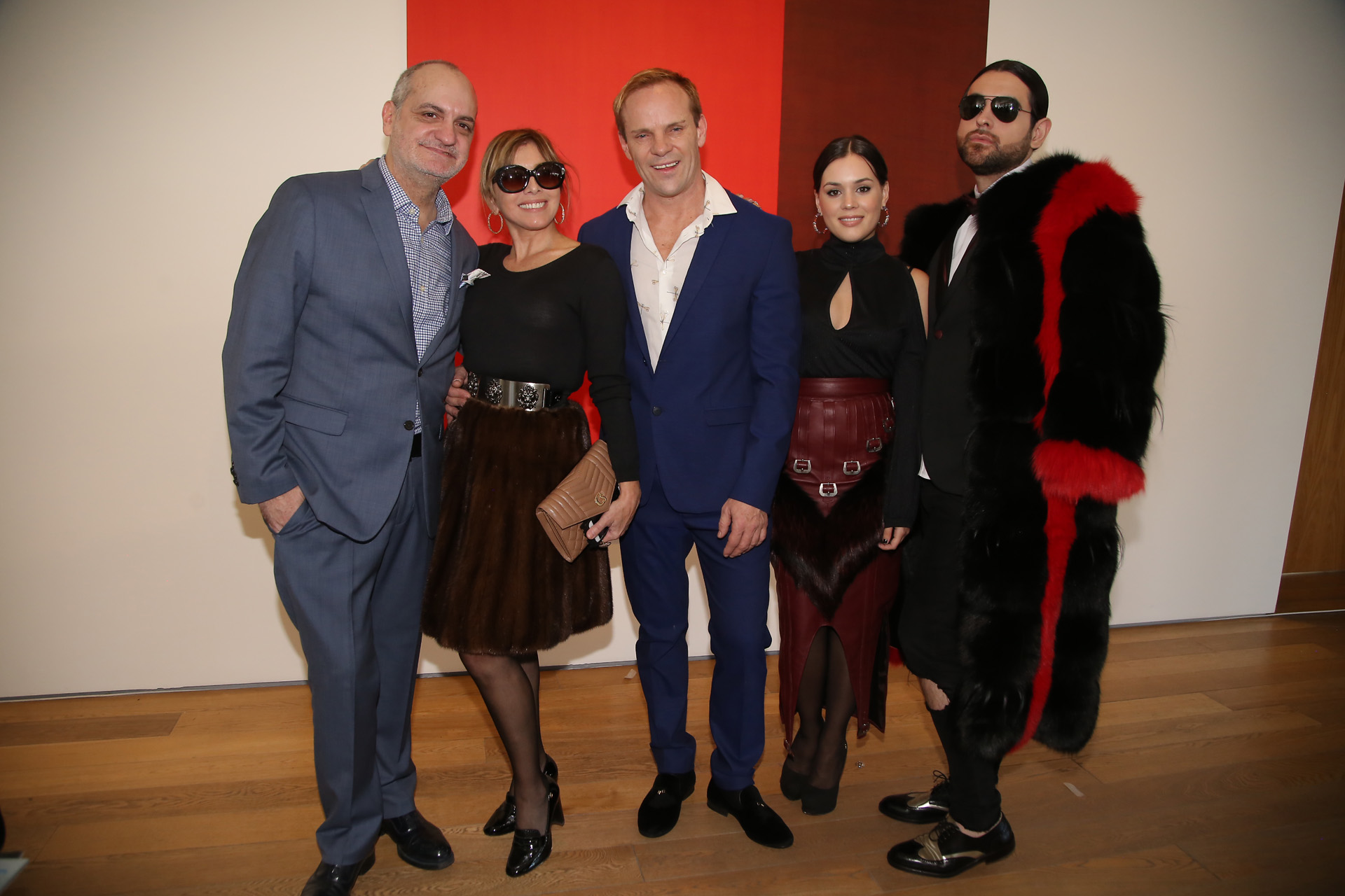 Laurencio Adot, Teresa Del Valle, Thiago Pinheiro, Valeria Baroni y Santiago Sapag