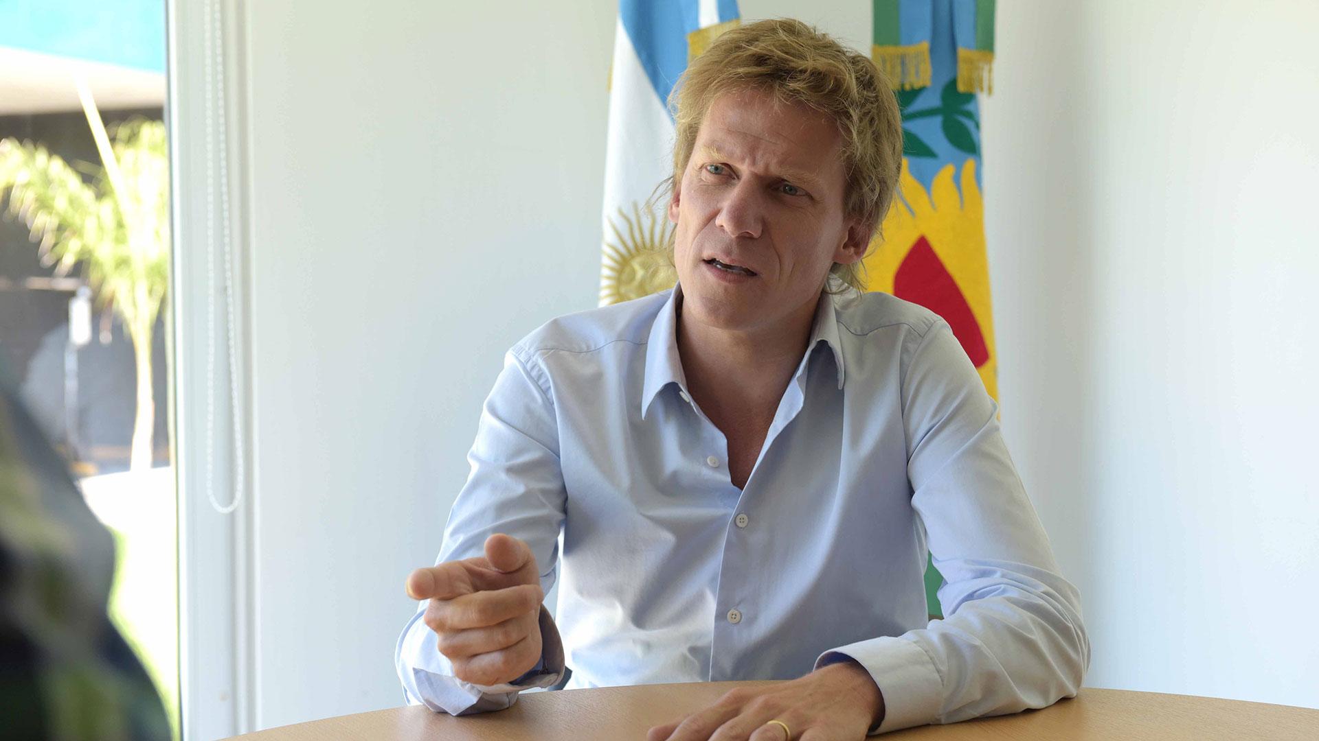 El director de ARBA, Gastón Fossati, destacó que el organismo está abocada a facilitar la gestión de los vecinos