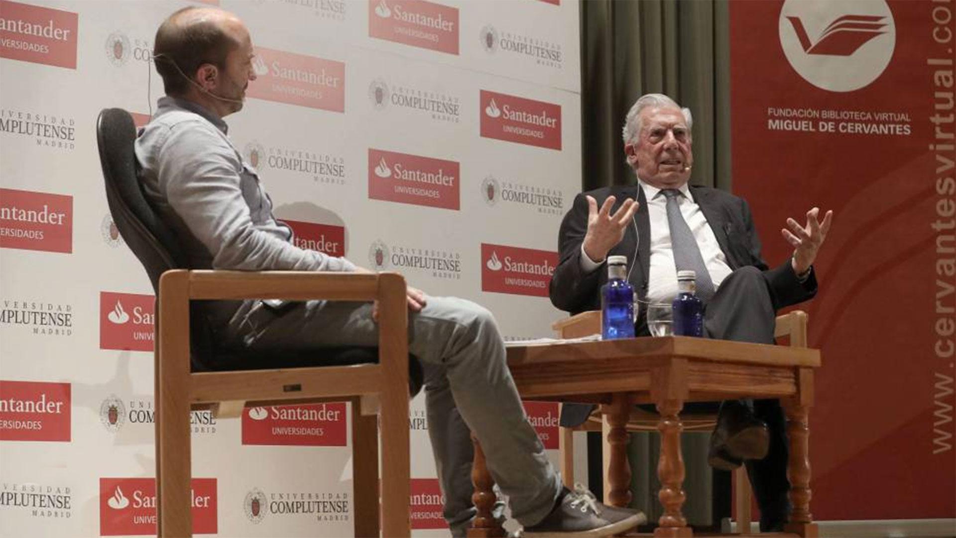 Mario Vargas Llosa dicta cátedra sobre Gabriel García Márquez [EN VIVO]