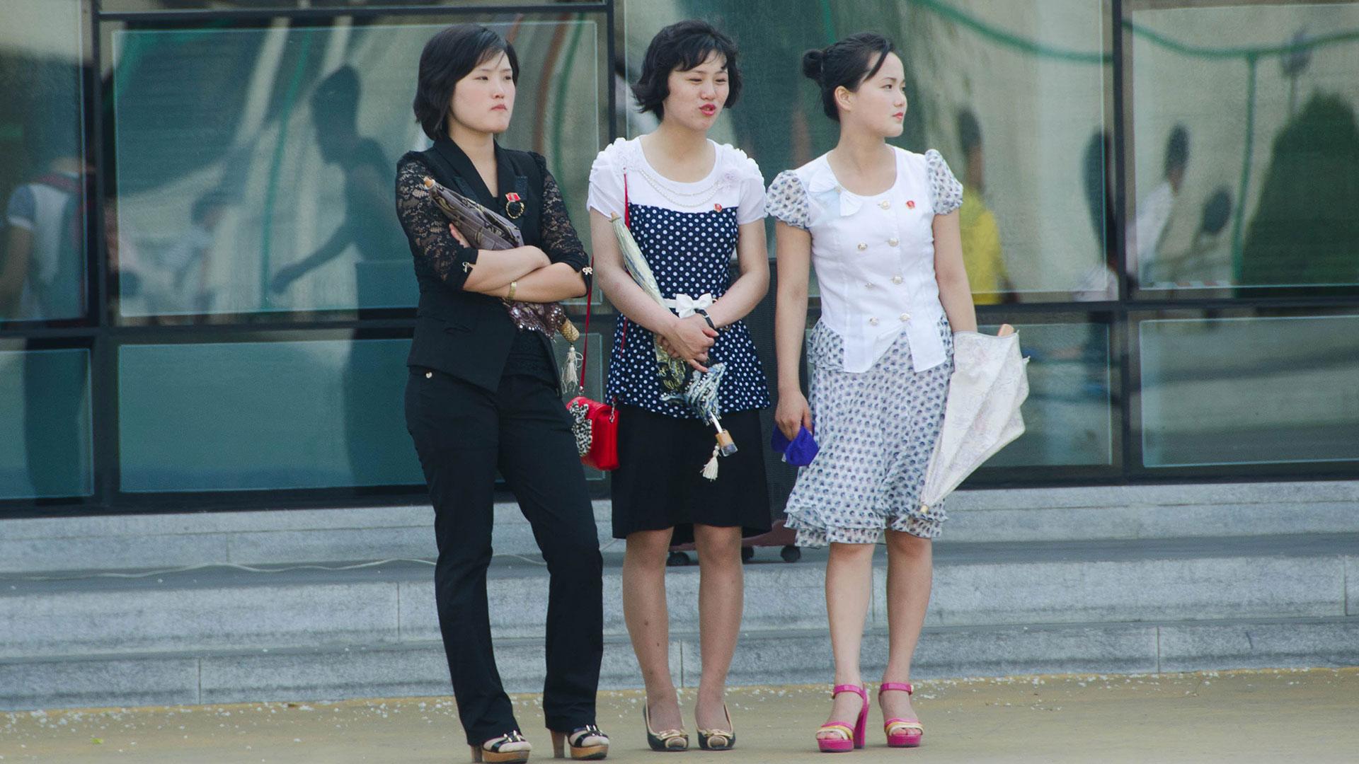 Colores de cabello de moda en corea