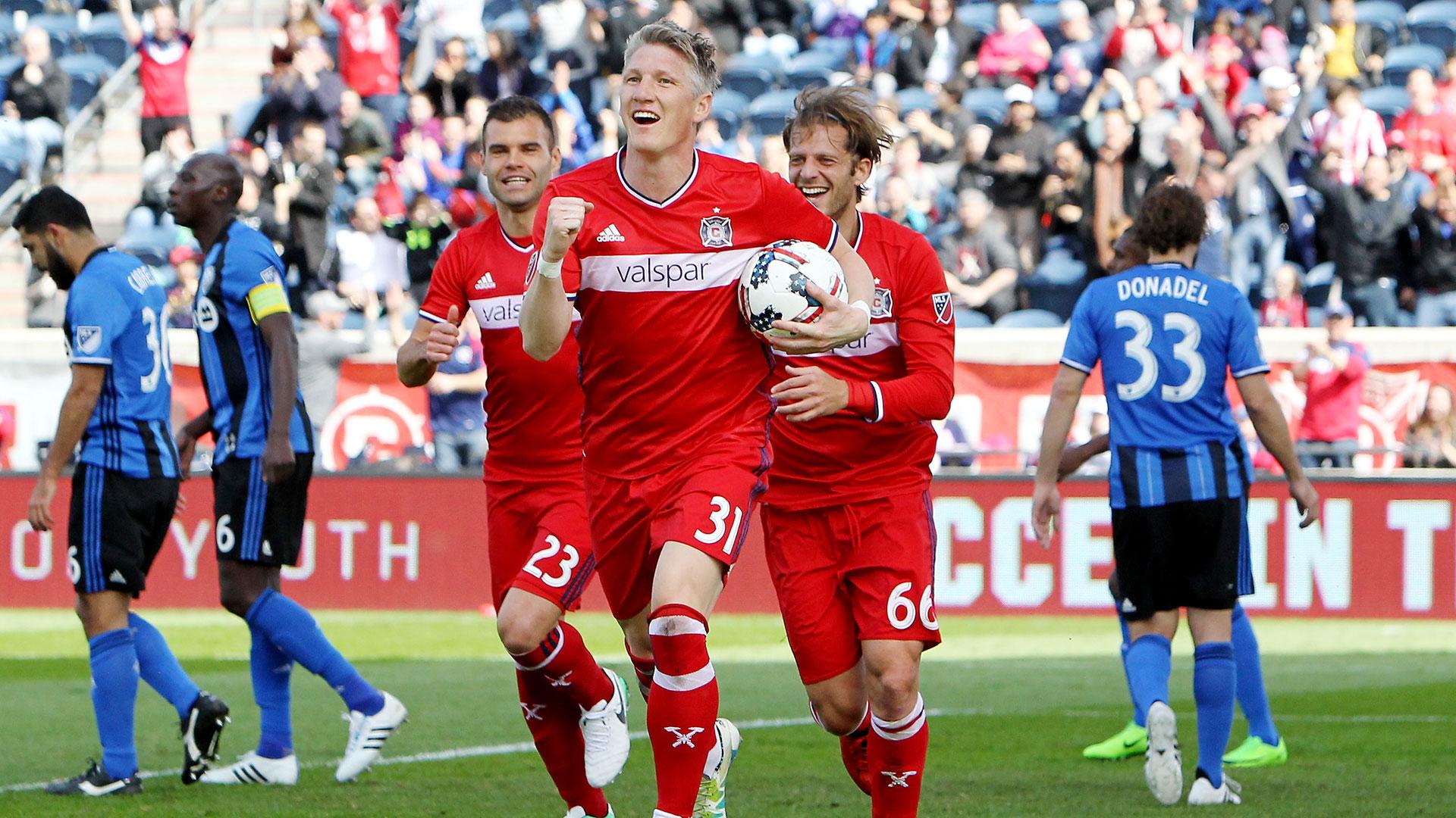 En los últimos años, estrellas como el alemán Bastian Schweinsteiger desembarcaron en la MLS (Getty Images)