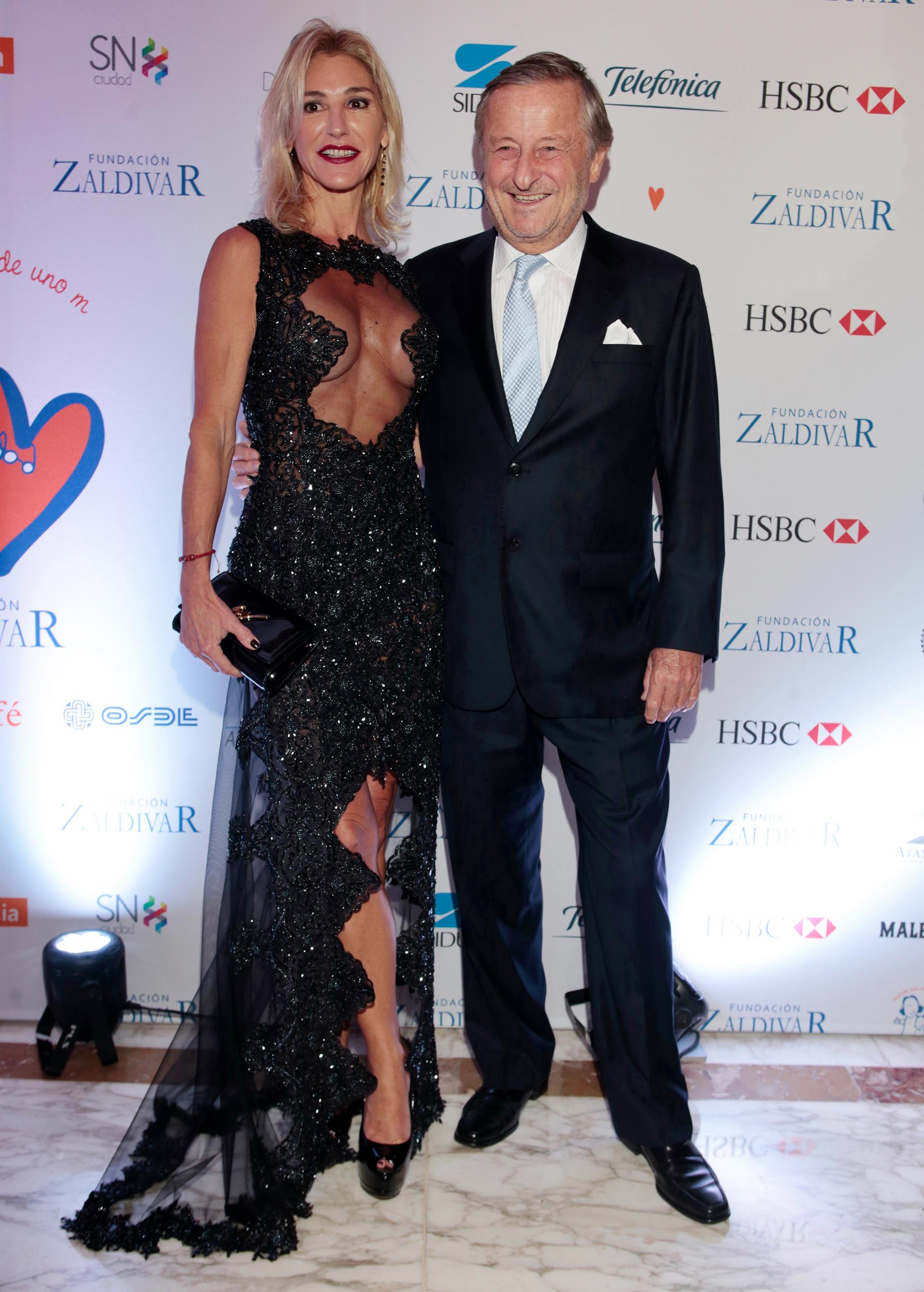 Cristiano Rattazzi, presidente de Fiat Argentina, y su pareja, Gabriela Castellani