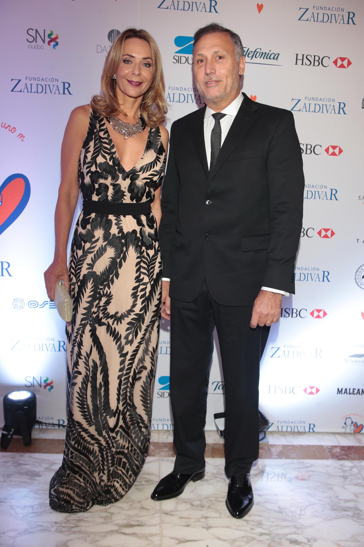 Evelyn Von Brocke y su marido Juan Vaggio
