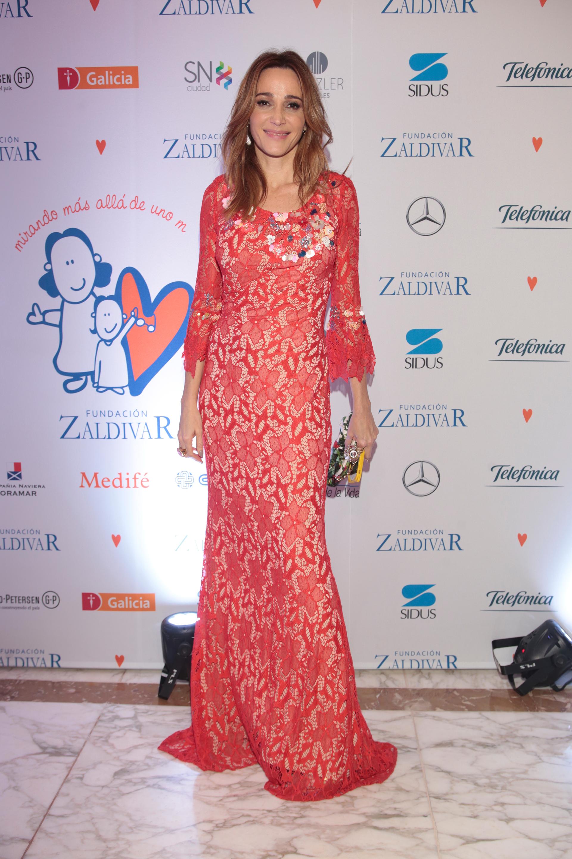 Verónica Lozano, conductora de la gran noche de la Fundación Zaldivar