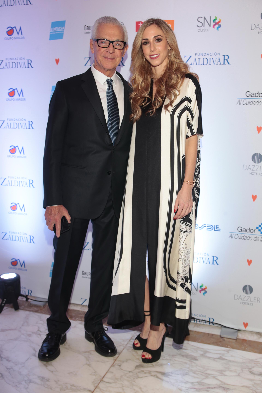 Eduardo Costantini y su pareja Lucía Radeljak. Desde sus inicios, la Fundación atendió a más de 100 mil pacientes de todo el país, sumando las consultas de 2017