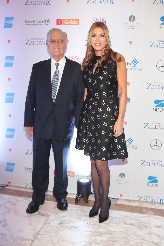 Alejandro y Bettina Bulgheroni