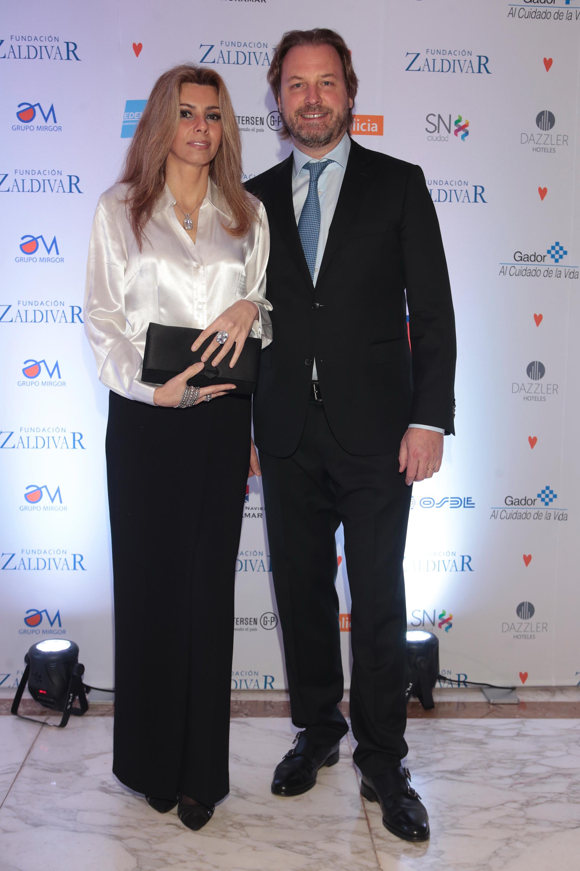 Michael Halstrick, presidente y CEO de Bodegas Norton, y Susana Monzó