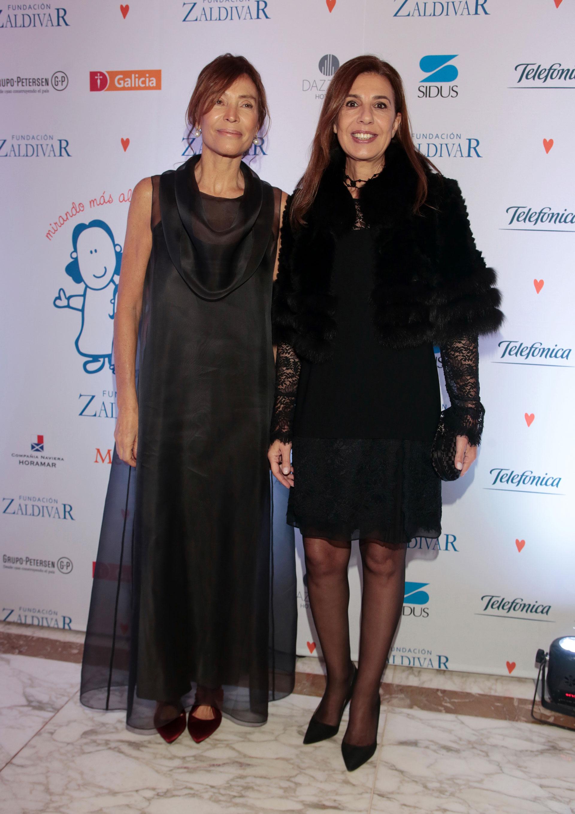 Estela Zaldivar y Zoraida Awada