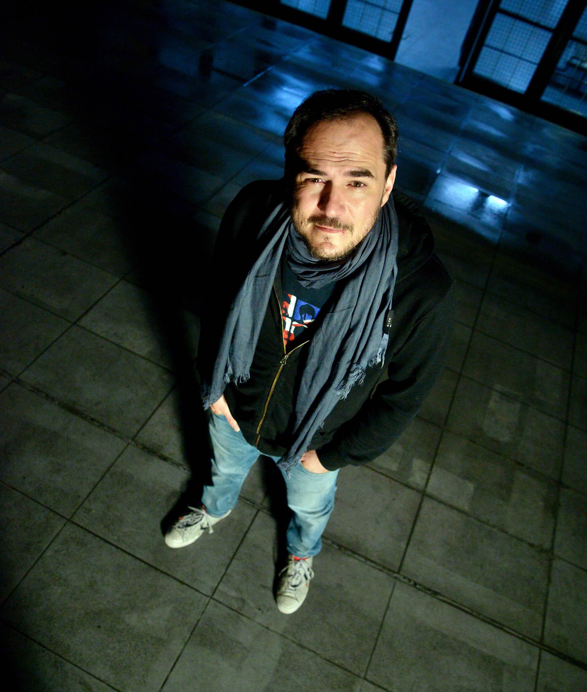 Ismael Serrano, de 43 años (Enrique Abbate)