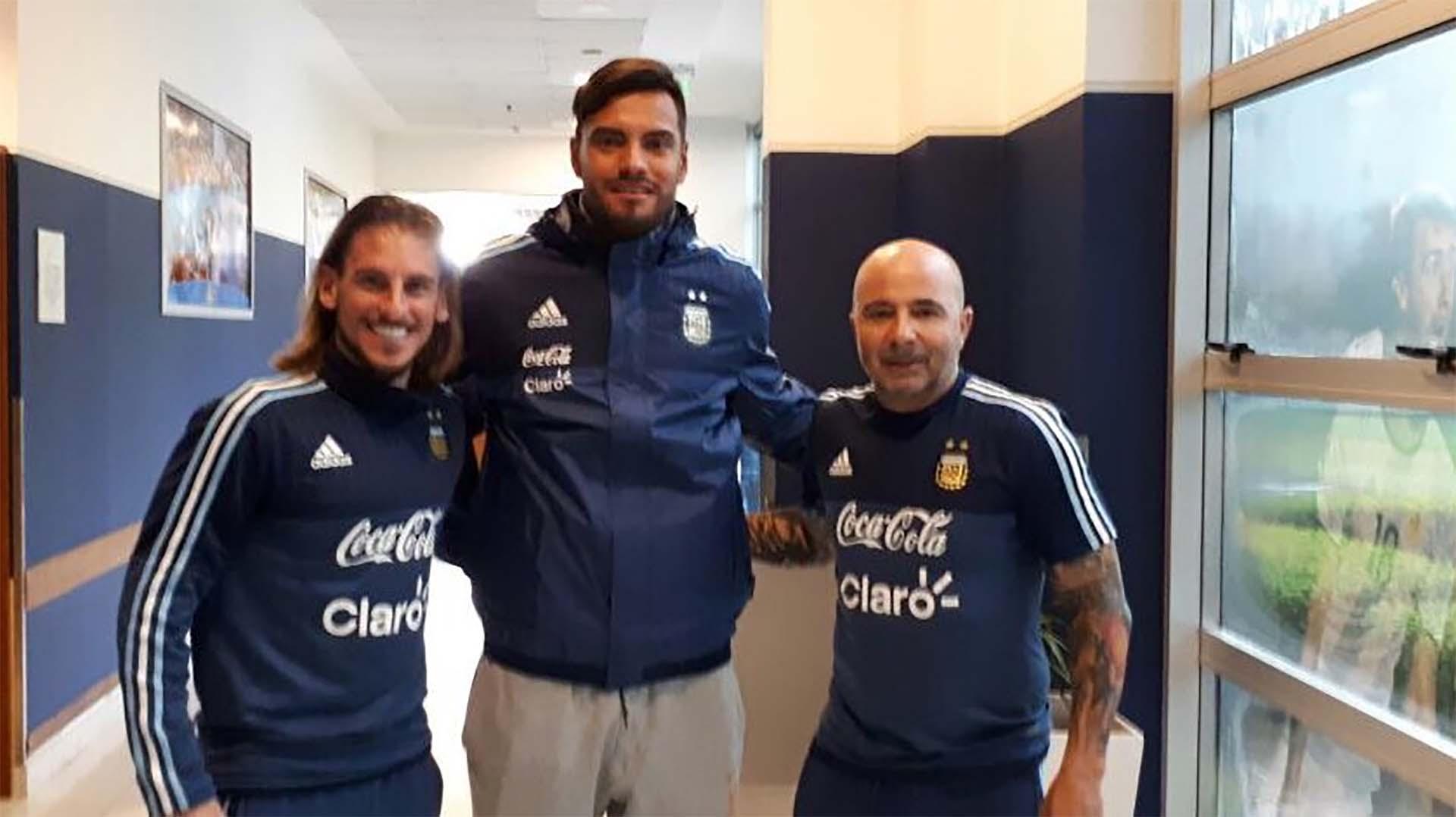 Romero se reunió con Sampaoli durante sus vacaciones