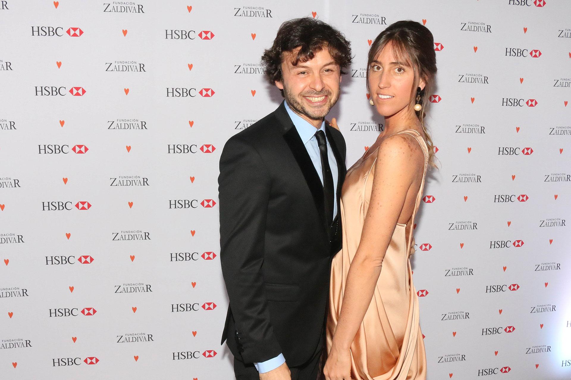 Wally Diamante y Mercedes Zaldivar