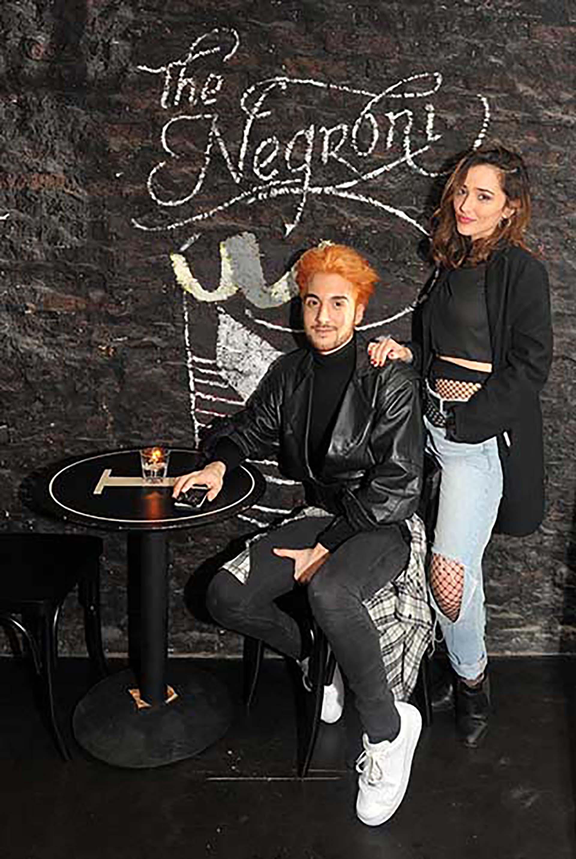 Nico Riedel y Julieta Bartolomé