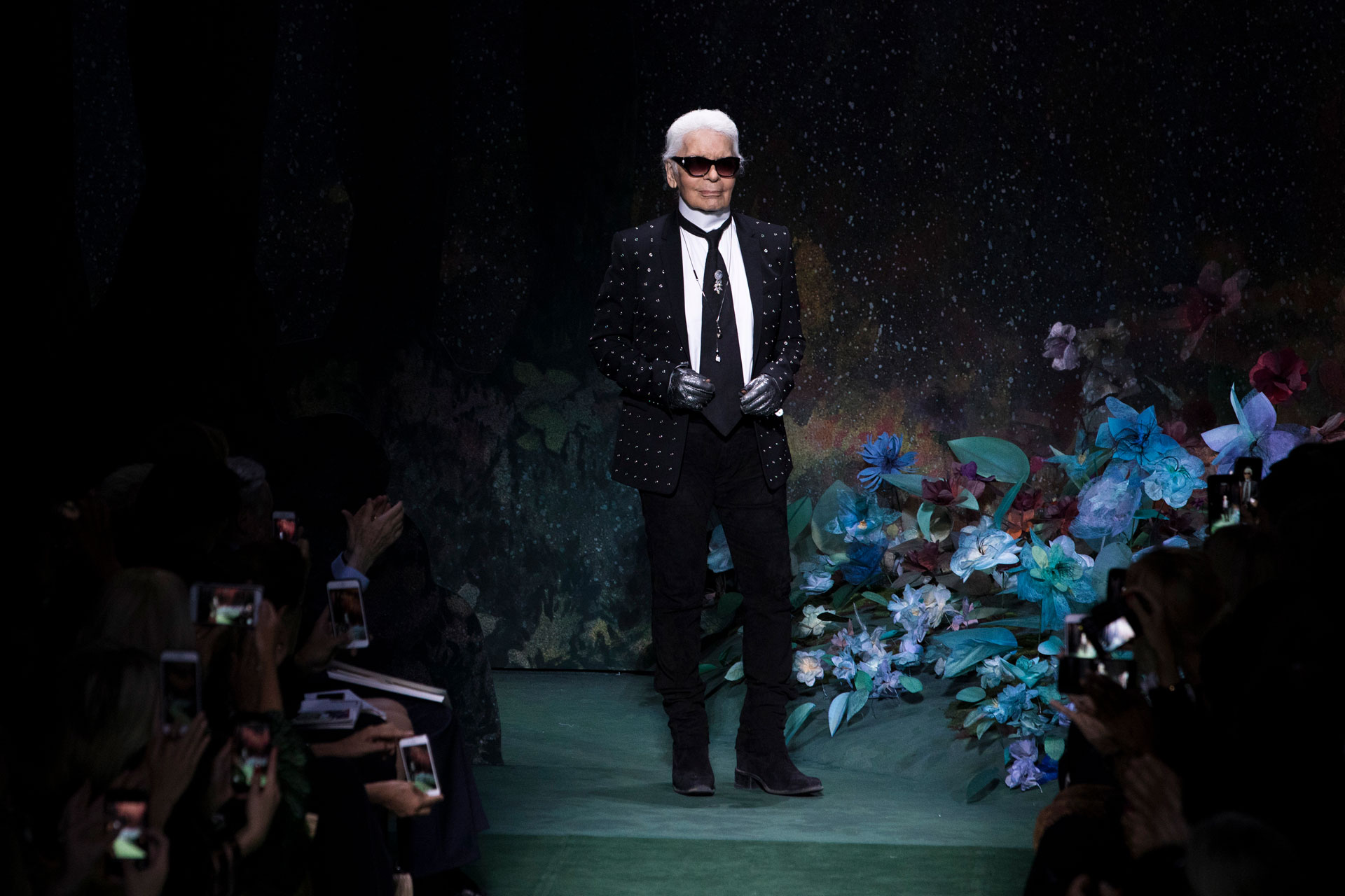 Karl Lagerfeld, diseñador y director de Fendi (AP)
