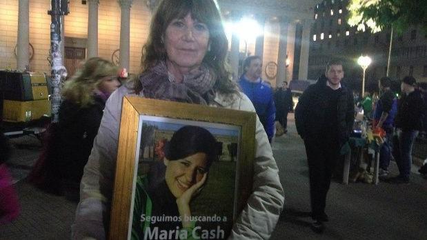 La madre de María Cash.