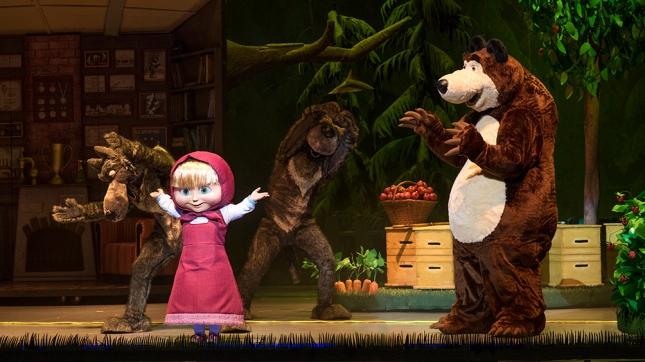 Masha y el Oso, la serie fenómeno de YouTube, se presenta en teatro