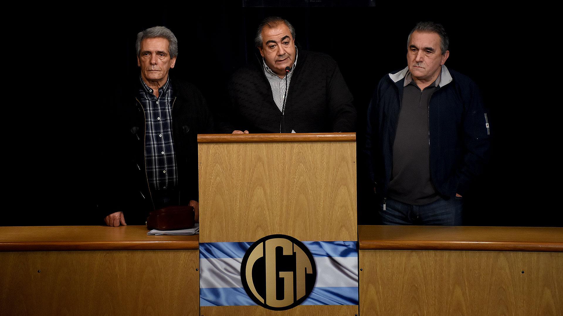 El triunvirato de la CGT (Nicolás Stulberg)