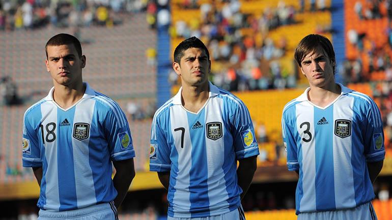 Tagliafico en el Mundial Sub 20 de Colombia