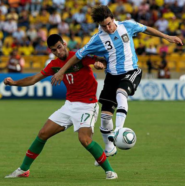 En el partido frente a Portugal por los cuartos de final