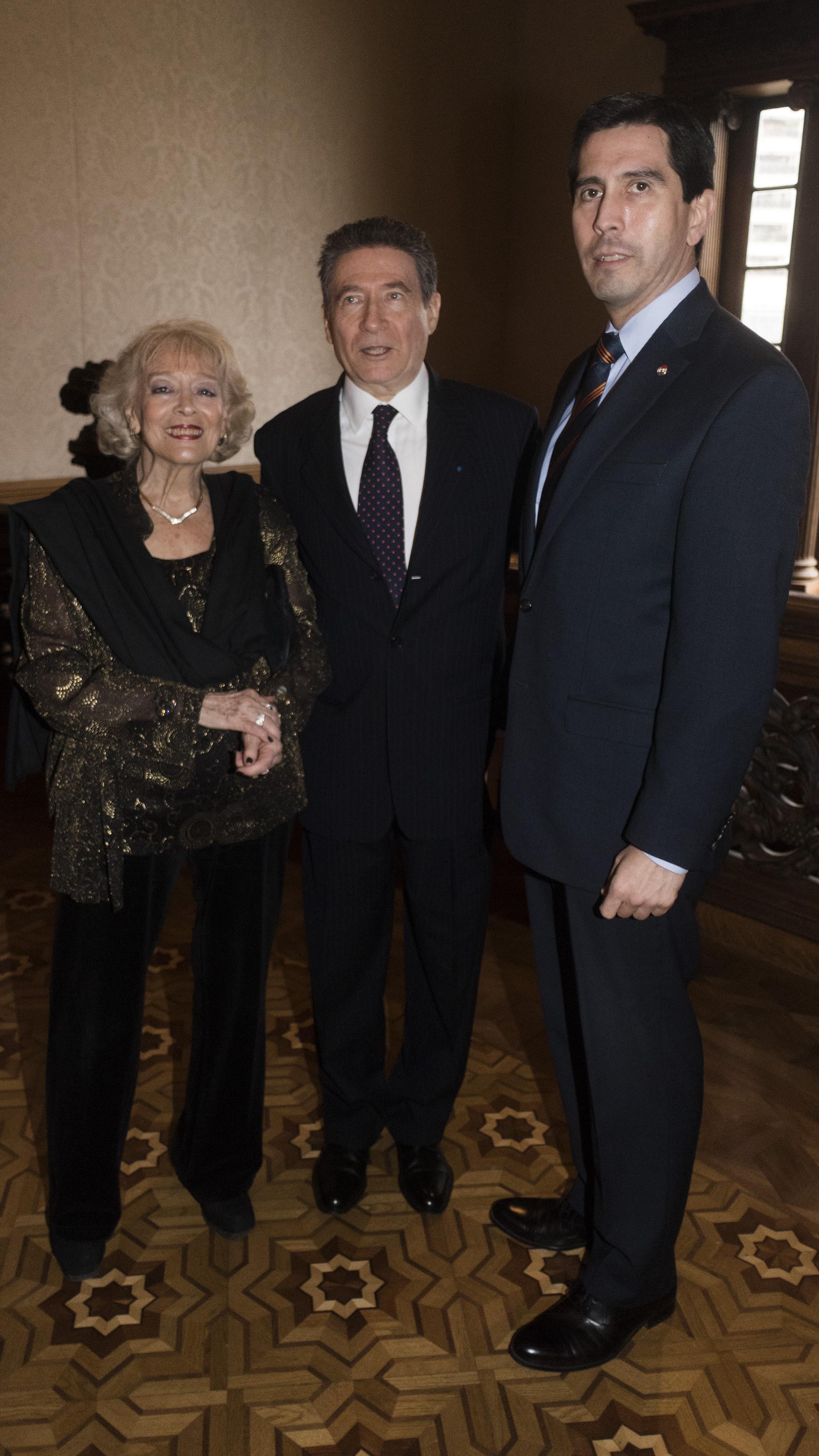 El embajador de Paraguay en nuestro país, Federico Alberto González Franco