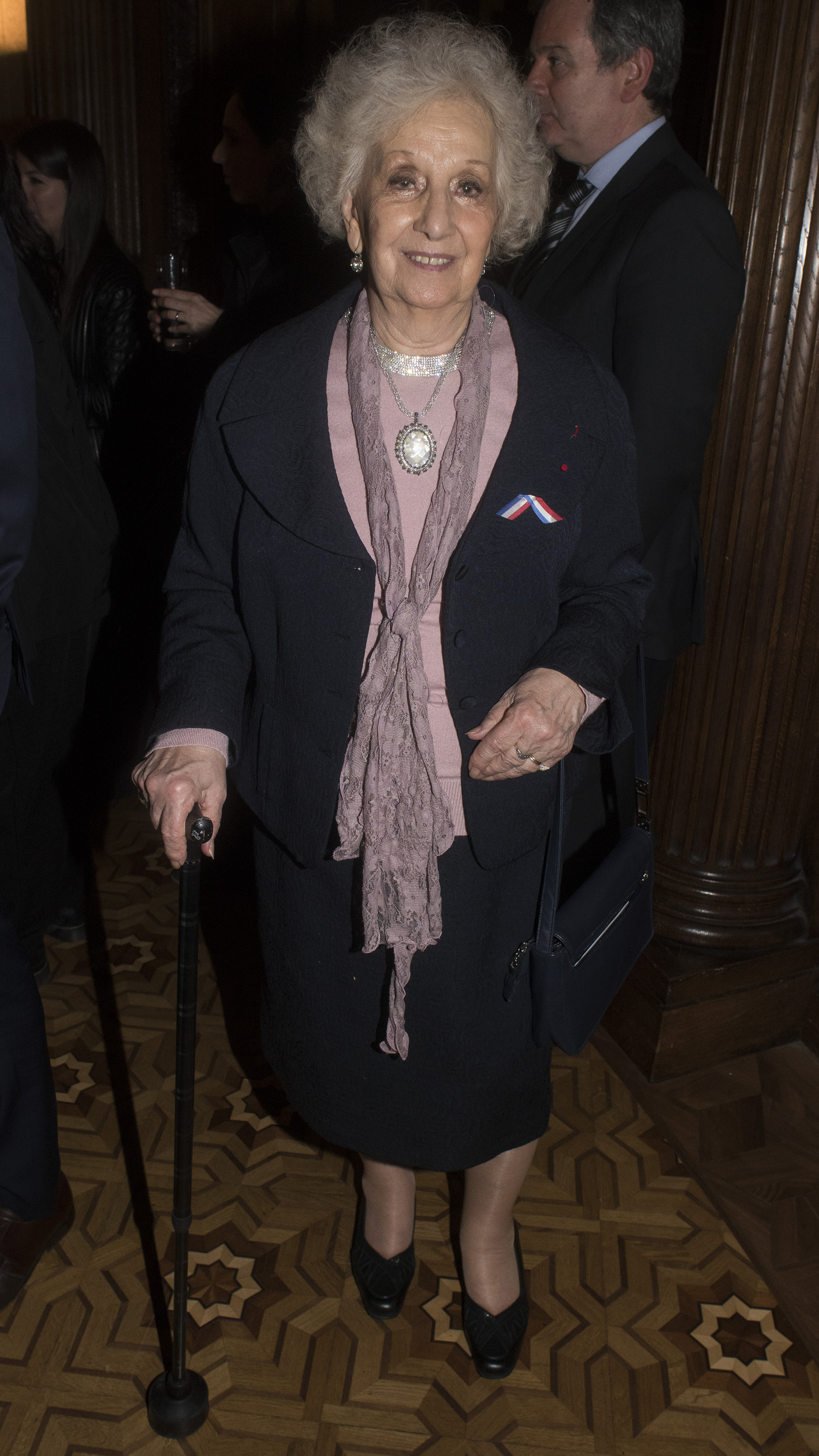 La presidenta de Abuelas de Plaza de Mayo, Estela de Carlotto