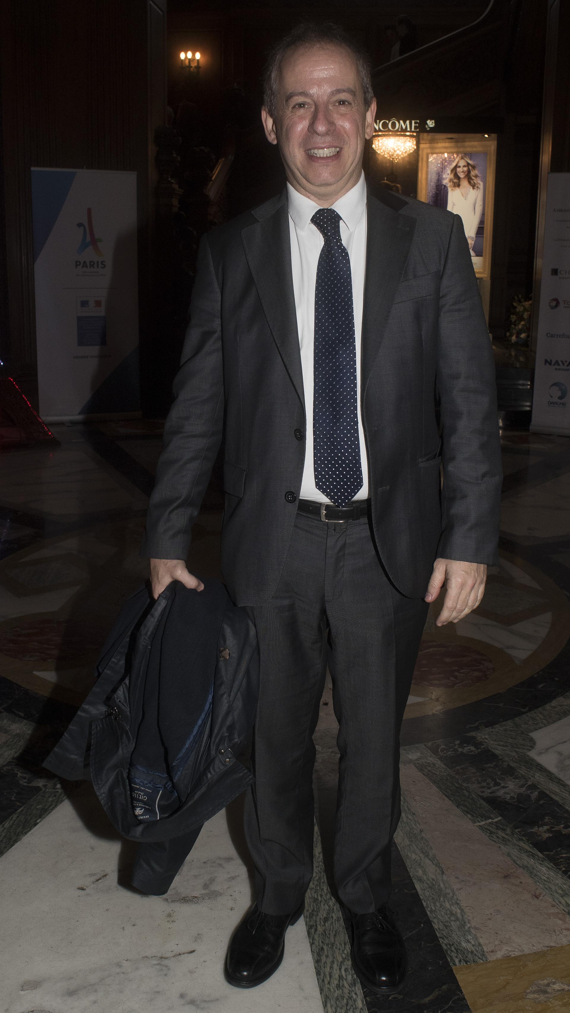 El gerente de Comunicaciones del Grupo Clarín, Martín Etchevers