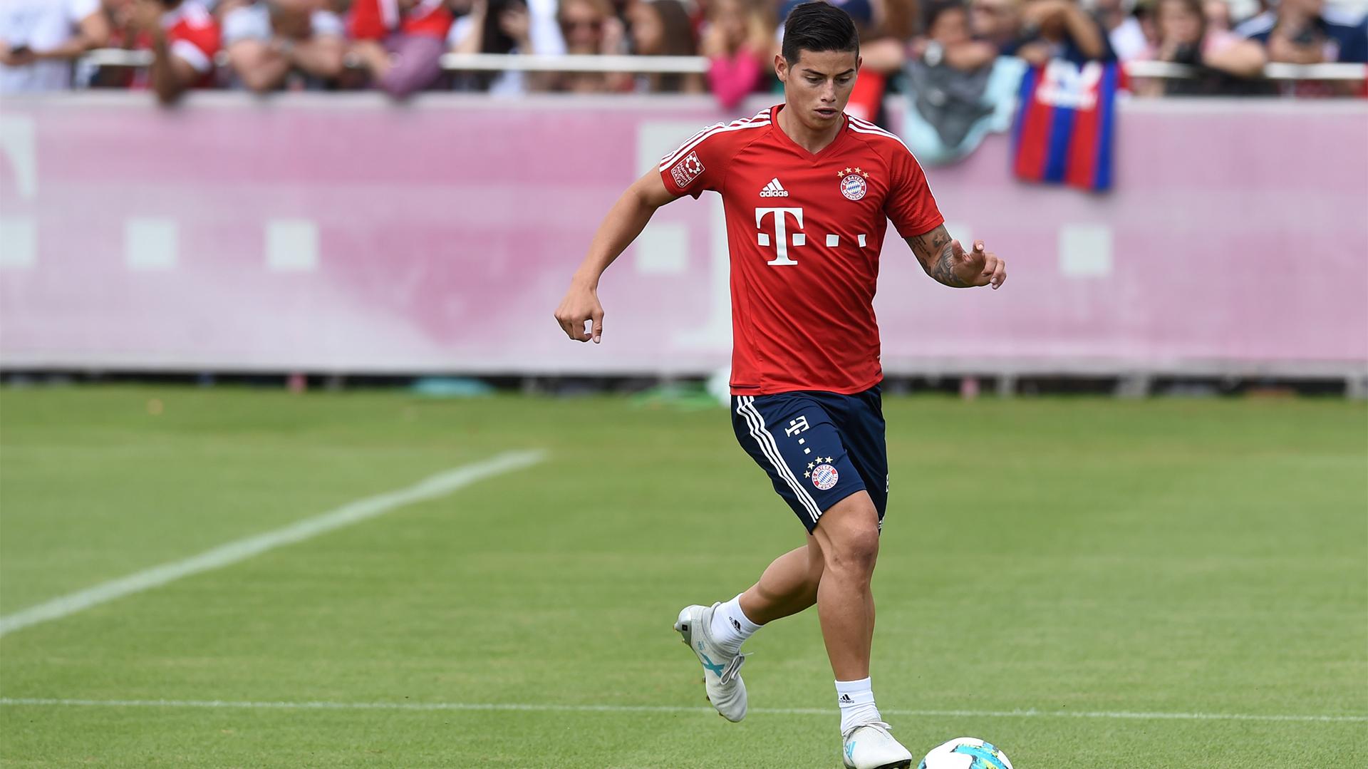 James Rodríguez buscará en el Bayern Munich la continuidad que no encontró en el Real Madrid (AFP)