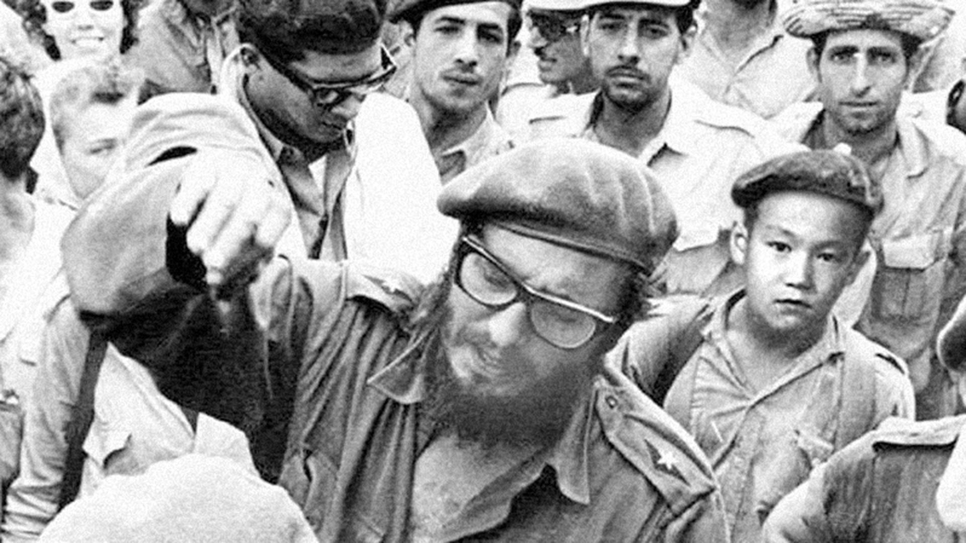 """Un jovencito Lim Zul lideró uno de los pelotones más sangrientos de Sierra Maestra. Fidel Castro lo adoraba y lo apodó """"el ponja"""""""