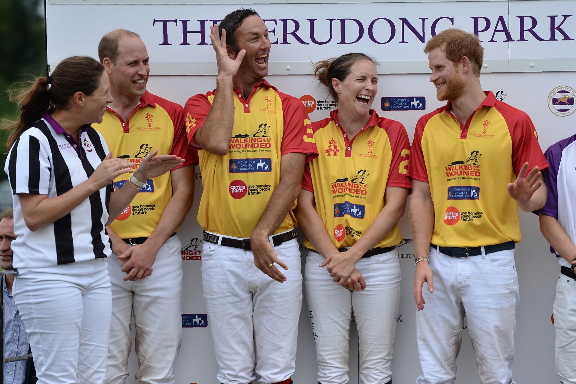 Una vez más, los príncipes William y Harry compartieron su pasión por el polo, un deporte en el que ambos se destacan