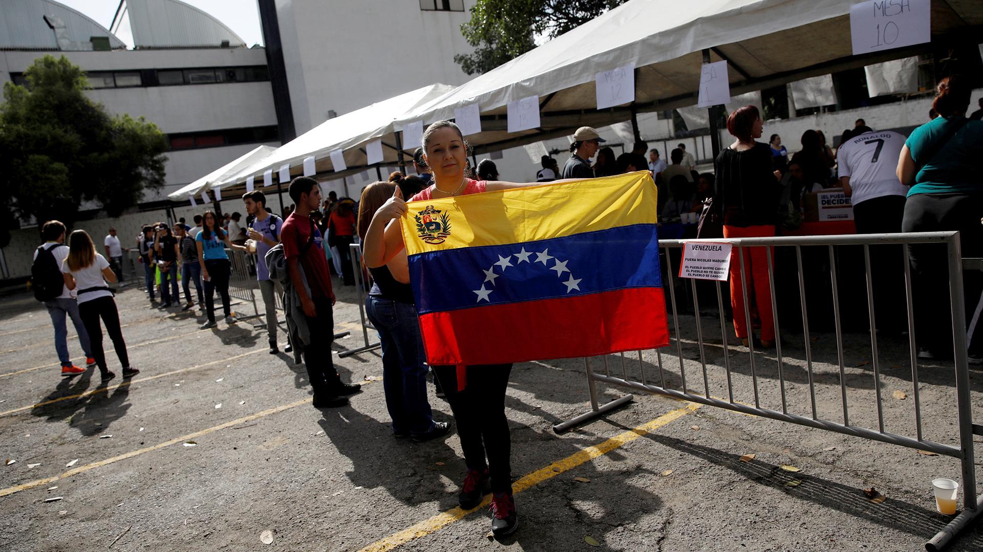 La votación transcurría en paz (Reuters)