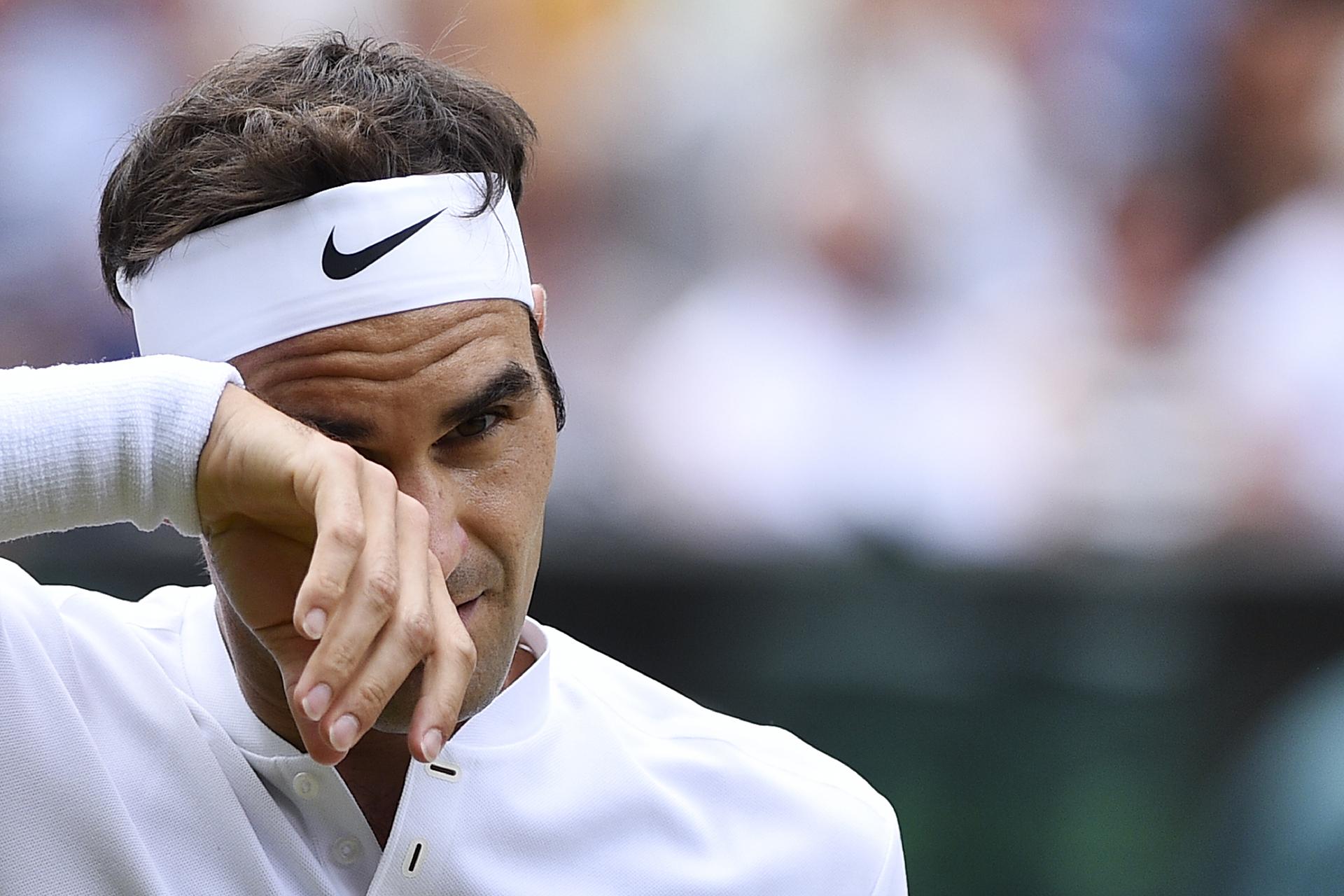 Casí sin despeinarse, Federer logró rápidamente imponer su jerarquía