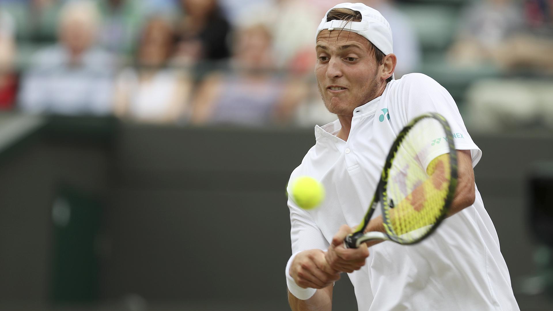 Axel Geller hizo un gran torneo pero los dolores le jugaron una mala pasada en la final del singles; después ganó el dobles