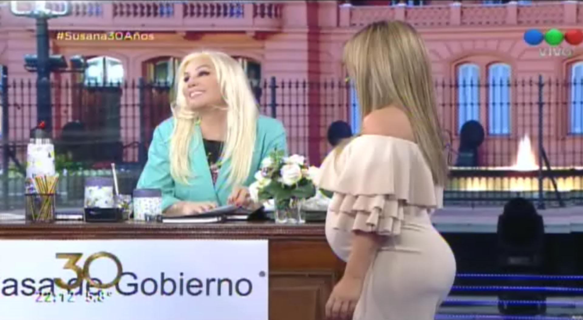 Florencia Peña está embarazada de siete meses