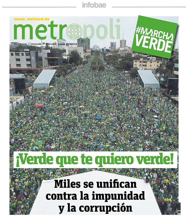 Metropoli, República Dominicana, Lunes 17 de julio de 2017