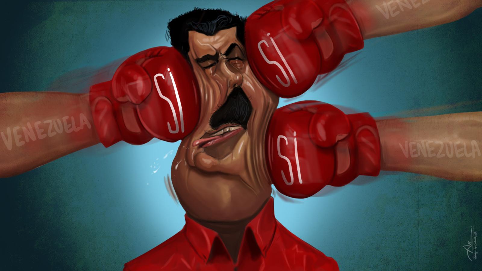 La consulta popular dio un masivo rechazo a la Asamblea Constituyente que pretende imponer Nicolás Maduro