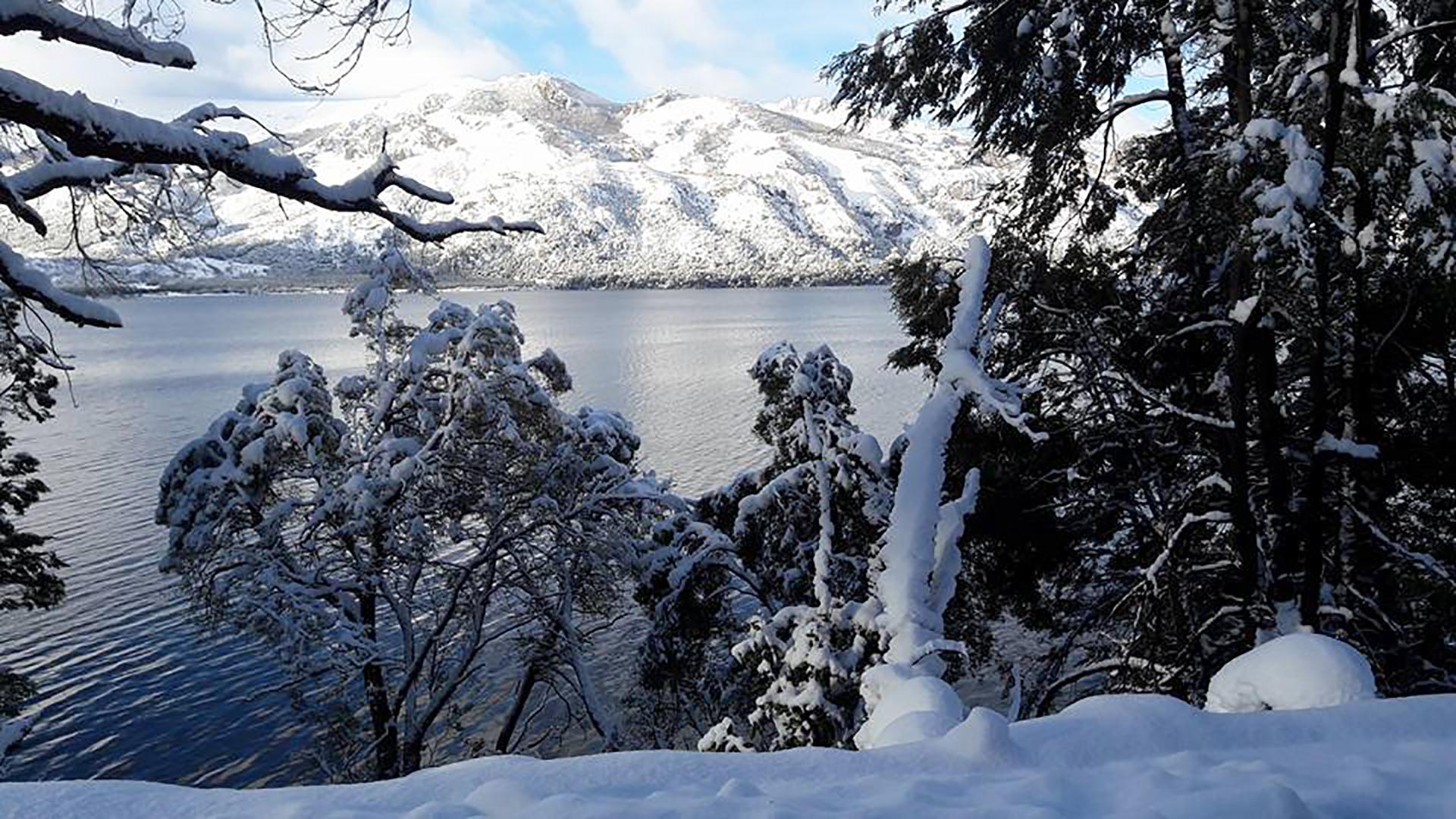 Lago Meliquina en Neuquen