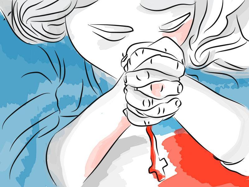 Ilustración vía Clementina León/VICENews