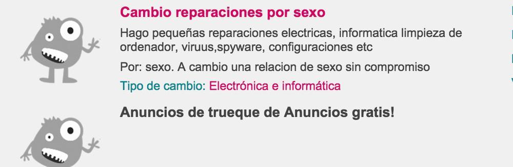 Captura de pantalla vía ofrezcoacambio.com
