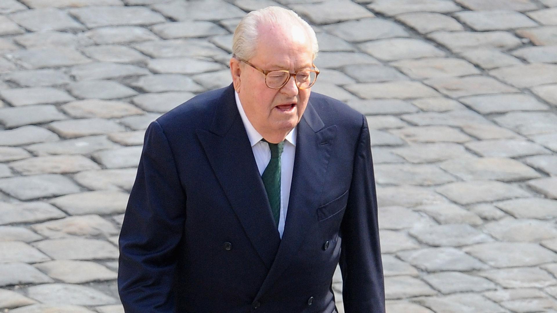 """Jean-Marie Le Pen fue internado el miércoles debido a una """"fatiga general"""" (Getty Images)"""