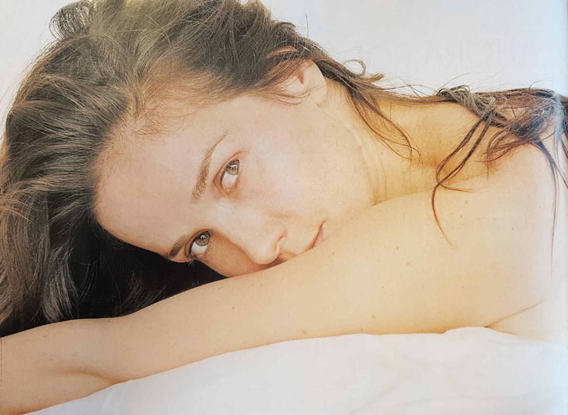 Natalia Oreiro se mostró a