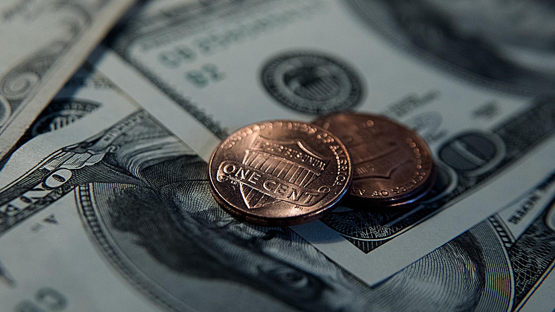 El dólar asciende 3,8% en 2019. (Adrián Escandar)