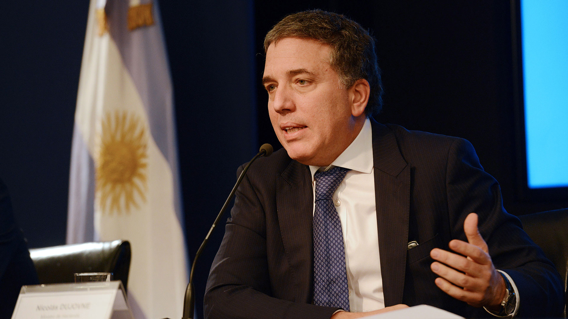 Nicolás Dujovne, ministro de Hacienda
