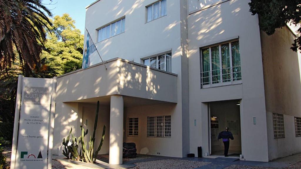 La casa de cultura Victoria Ocampo, en Palermo