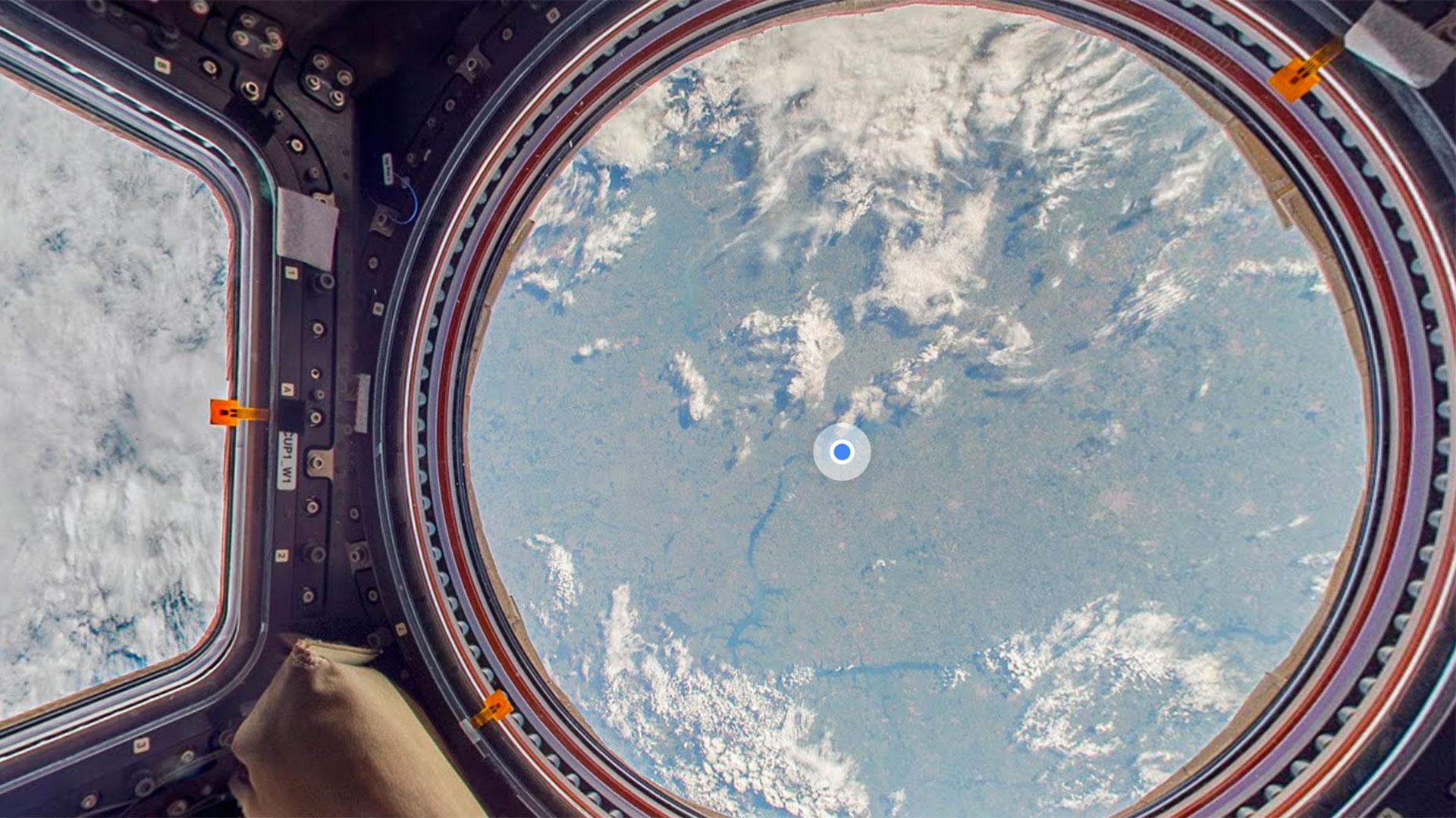 La Estación Espacial Internacional por Street View