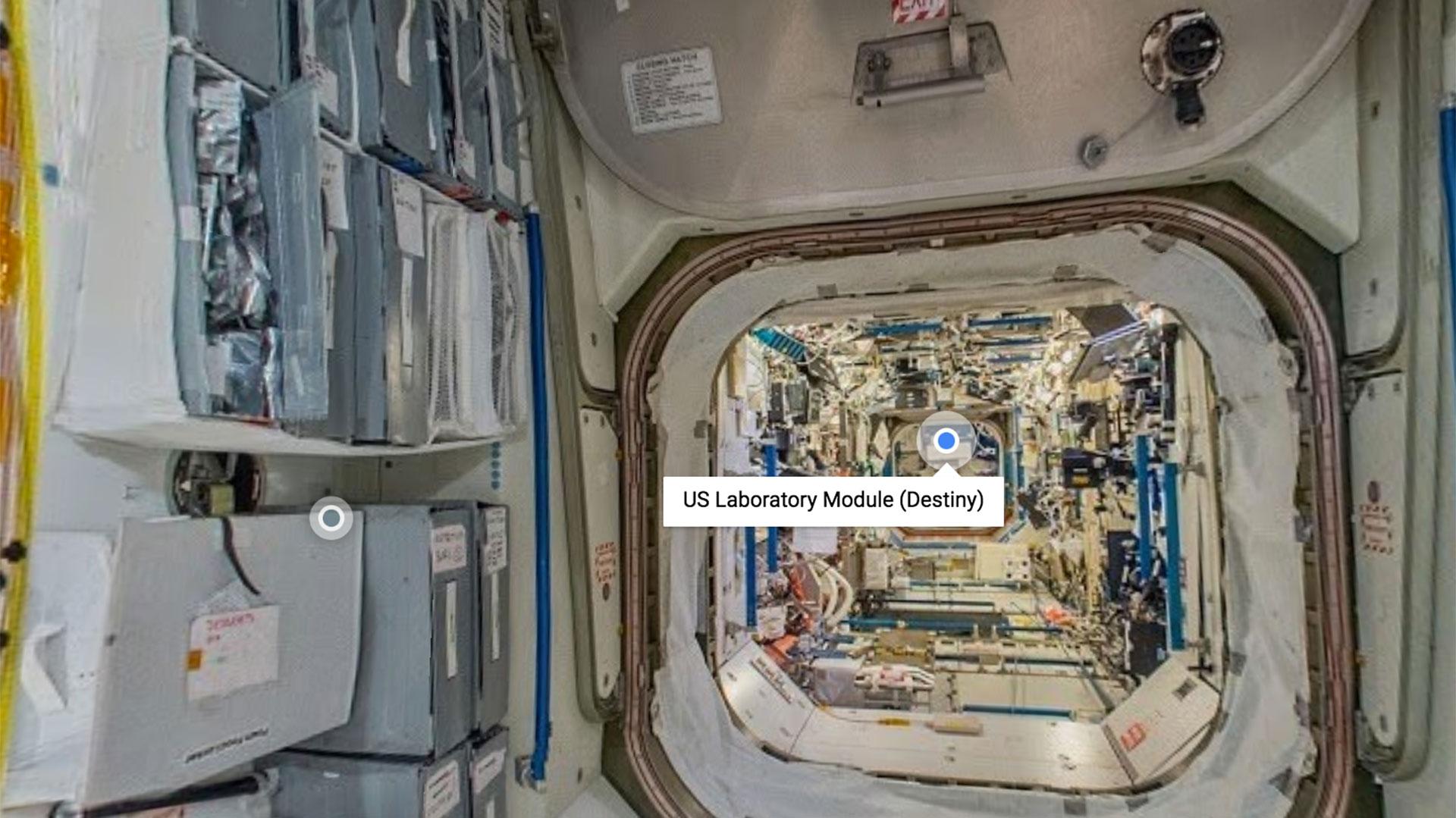 Módulo del Laboratorio de Estados Unidos en la ISS