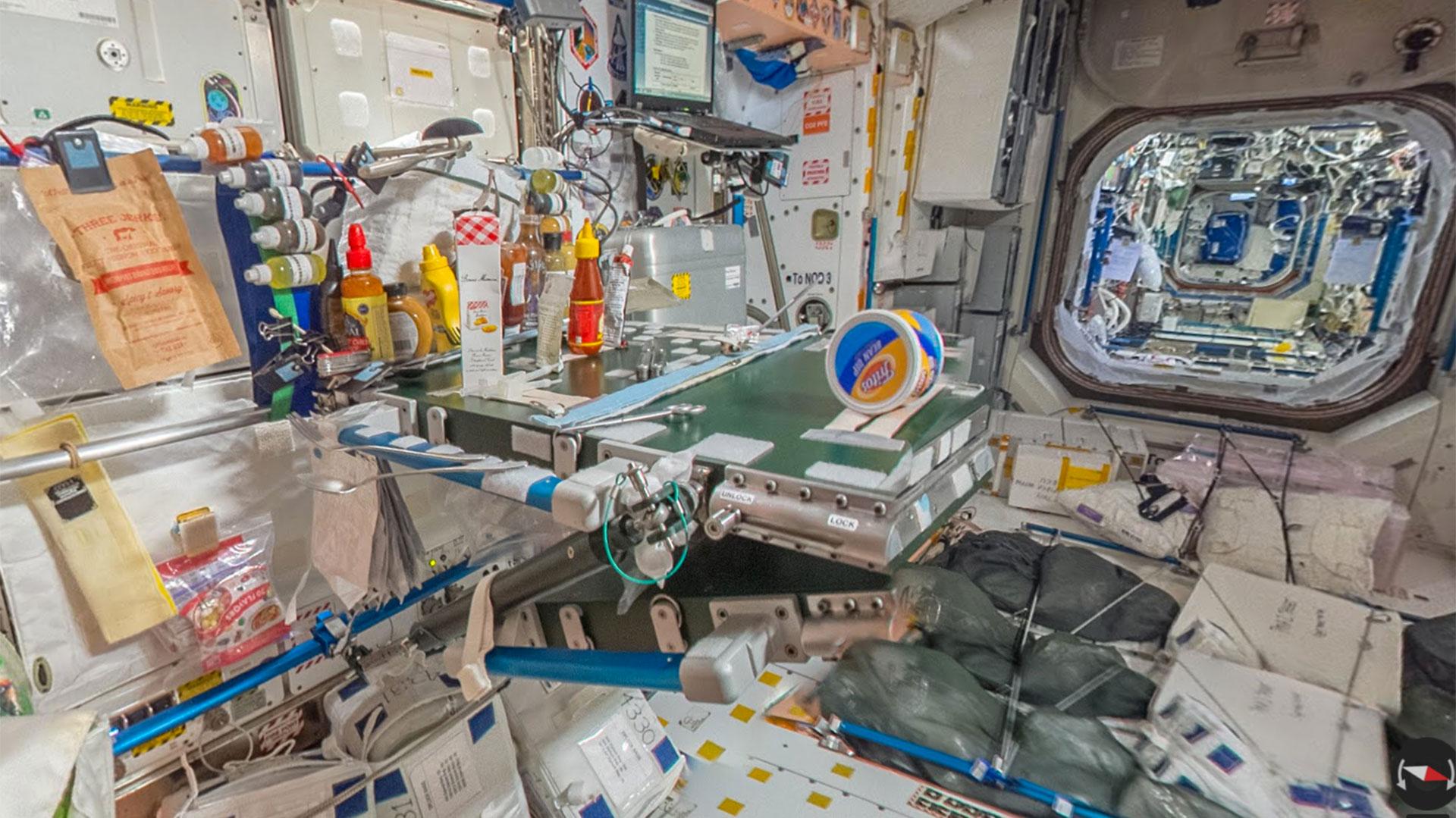 A bordo de la ISS a través de Street View